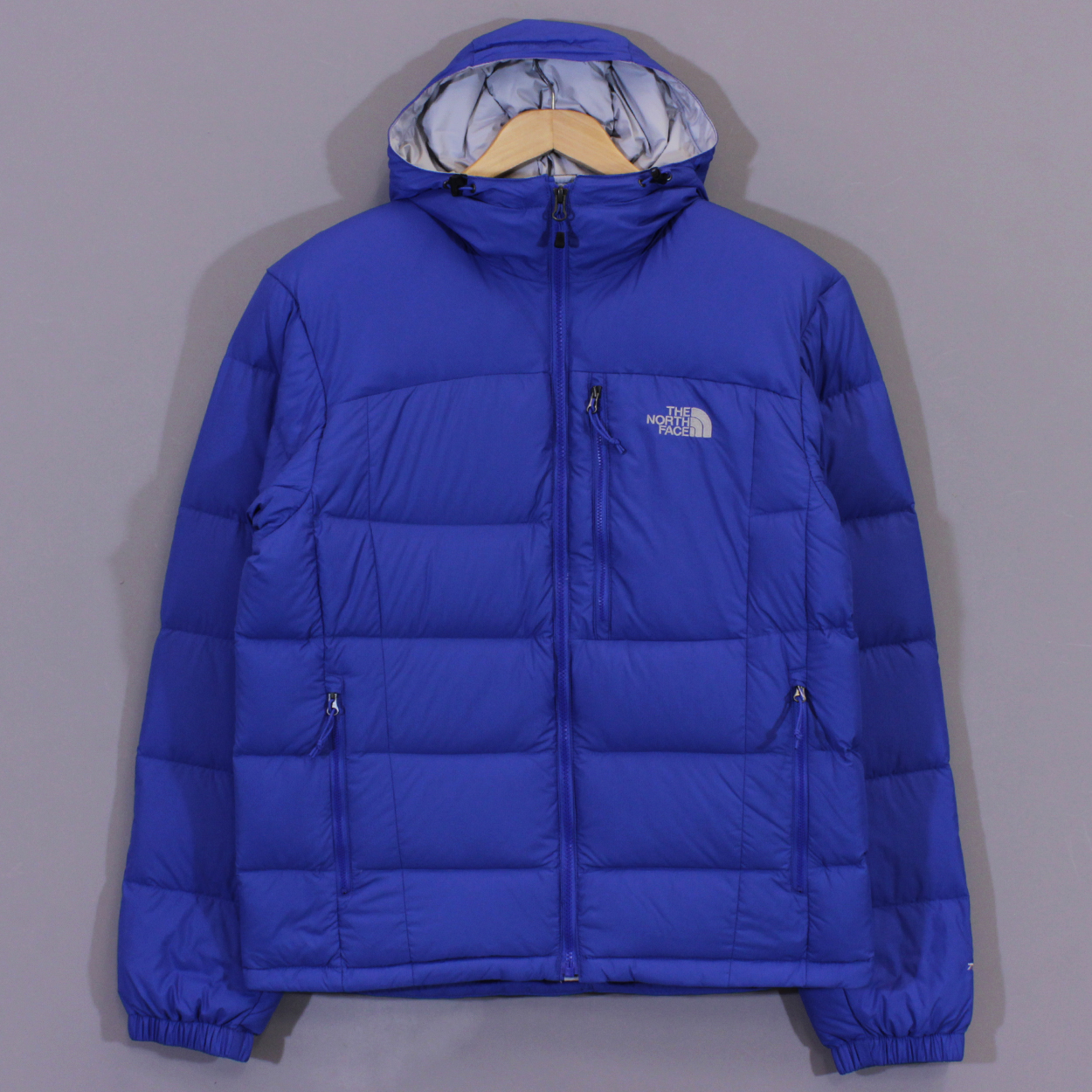 5544a4de4 The North Face Mens Argento Hooded Down Jacket Nautical Blue £154.00