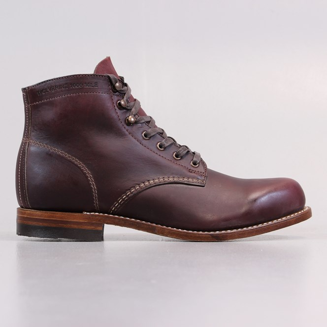 Wolverine 1000 Mile Boots Cordovan No.Eight