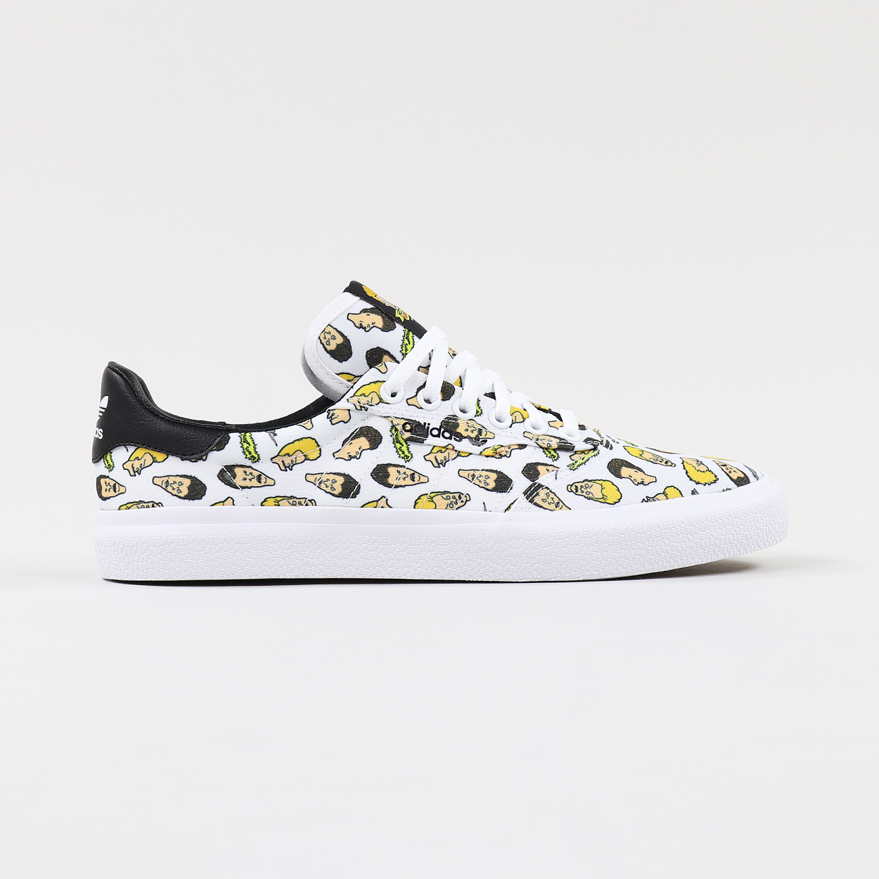 low priced 0f978 47d17 Adidas Skate x Beavis and Butt-Head 3MC Graphic Shoes White ...
