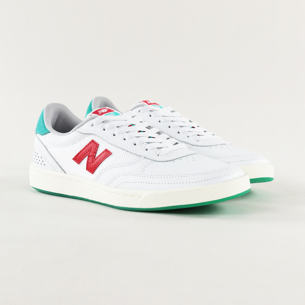 New Balance Numeric 440 Shoes White Red