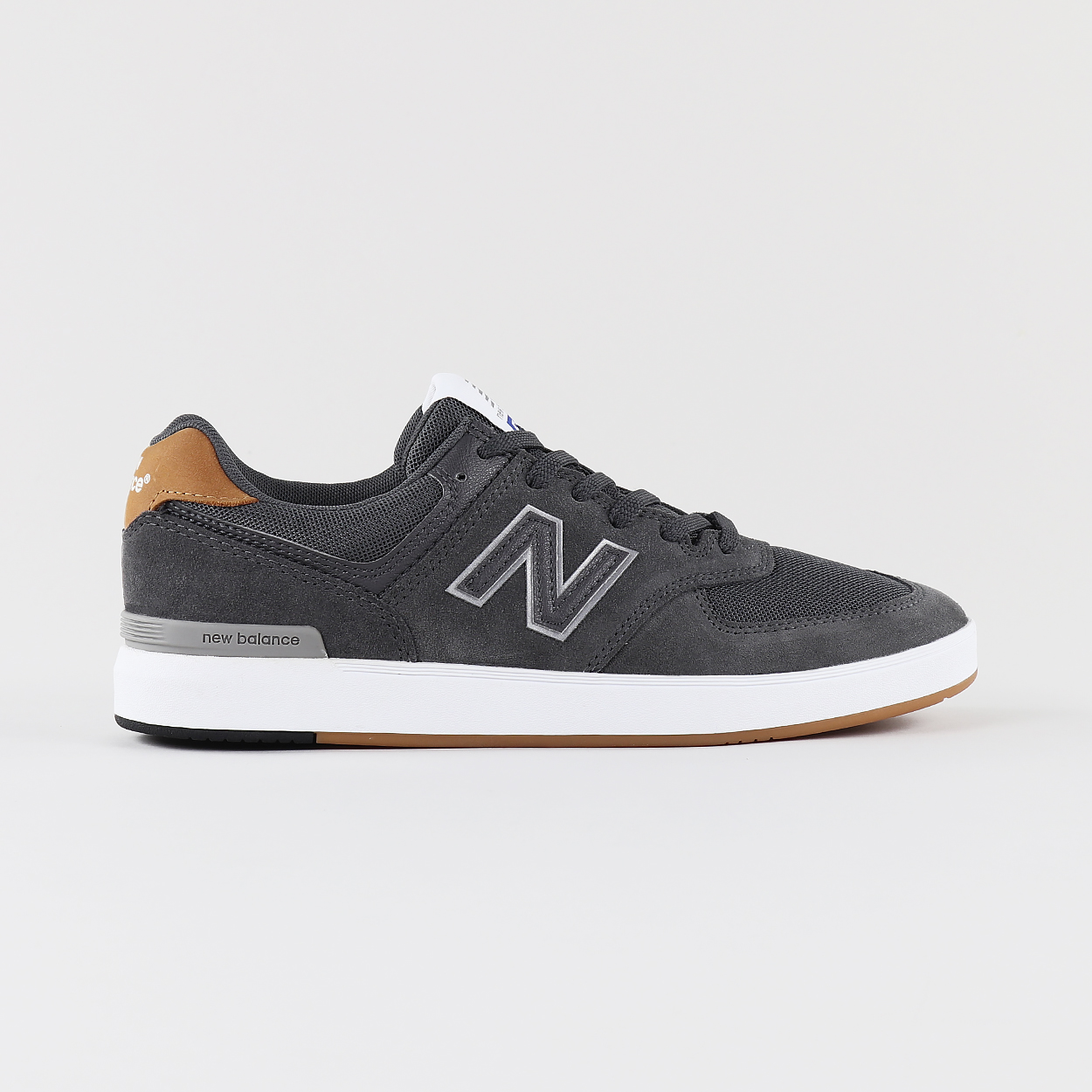 76379ee843 New Balance Numeric Mens Skateboard 574 Shoes Trainers Grey Brown £65.00