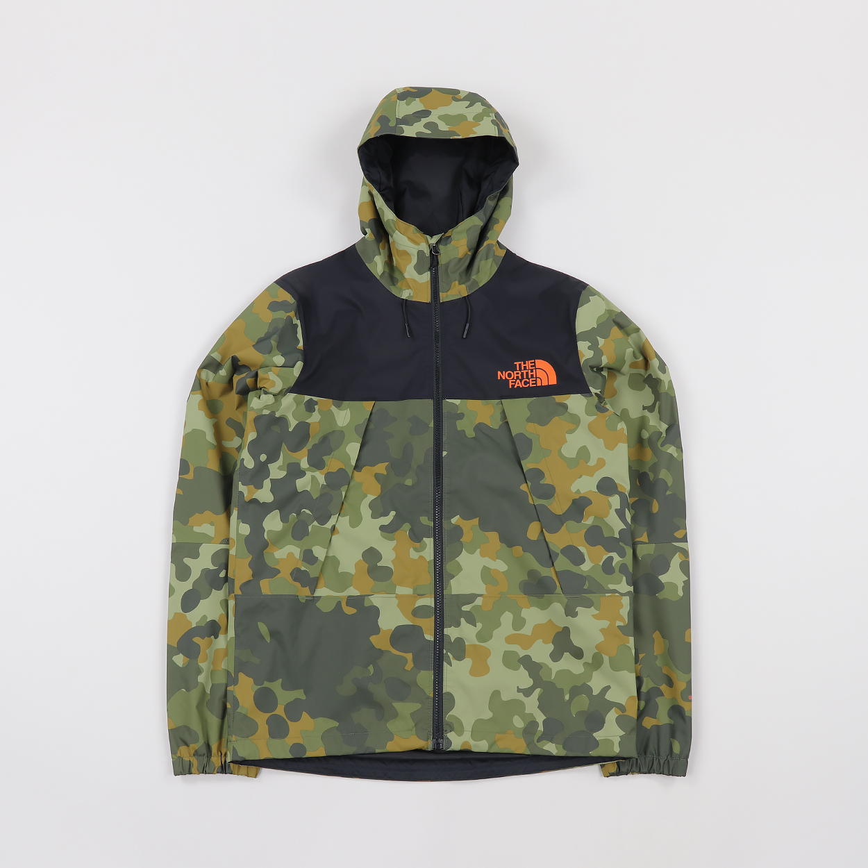 143810edc The North Face Mens 1990 Mountain Q Jacket New Taupe Green Camo £77.00