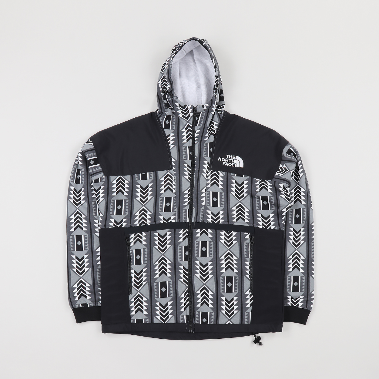 8a67ff88f The North Face Mens 92 Rage Fleece Pattern Hoody White Black £74.99