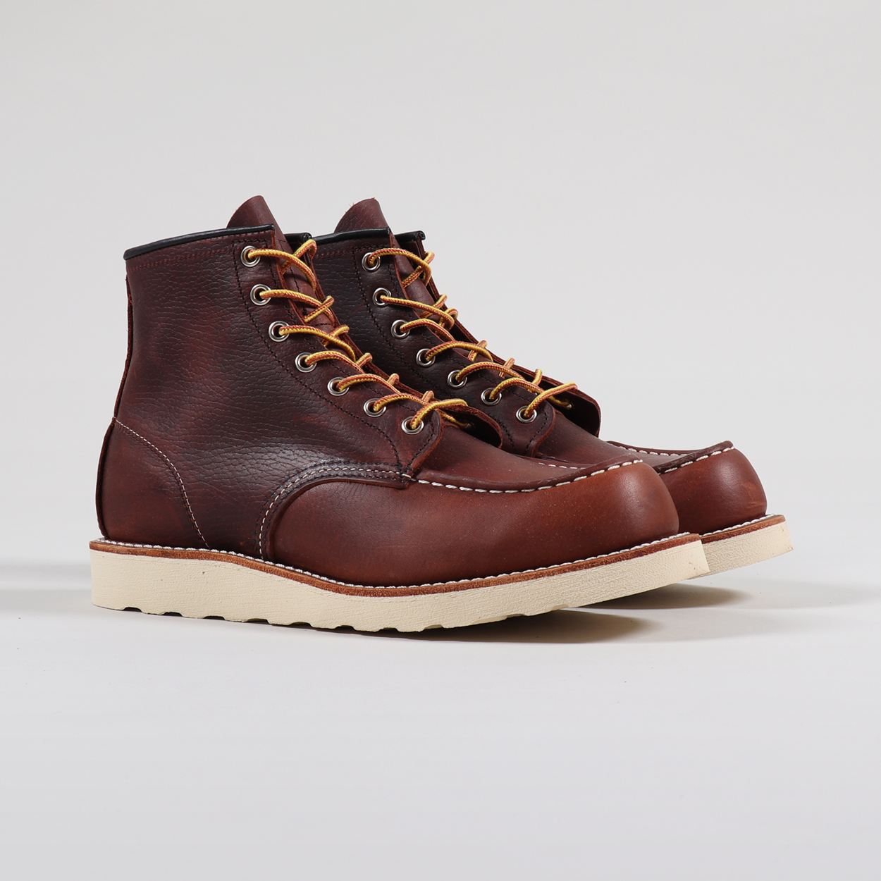 Red Wing Classic Moc Toe Boots Brown