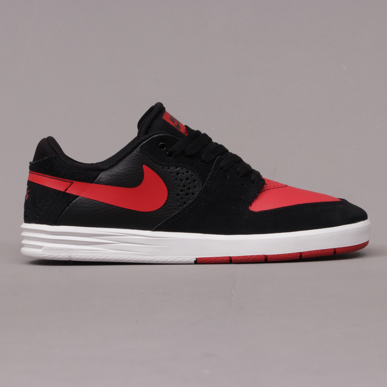watch af693 594c7 Nike Paul Rodriguez 7 Shoes - Black, University Red and White