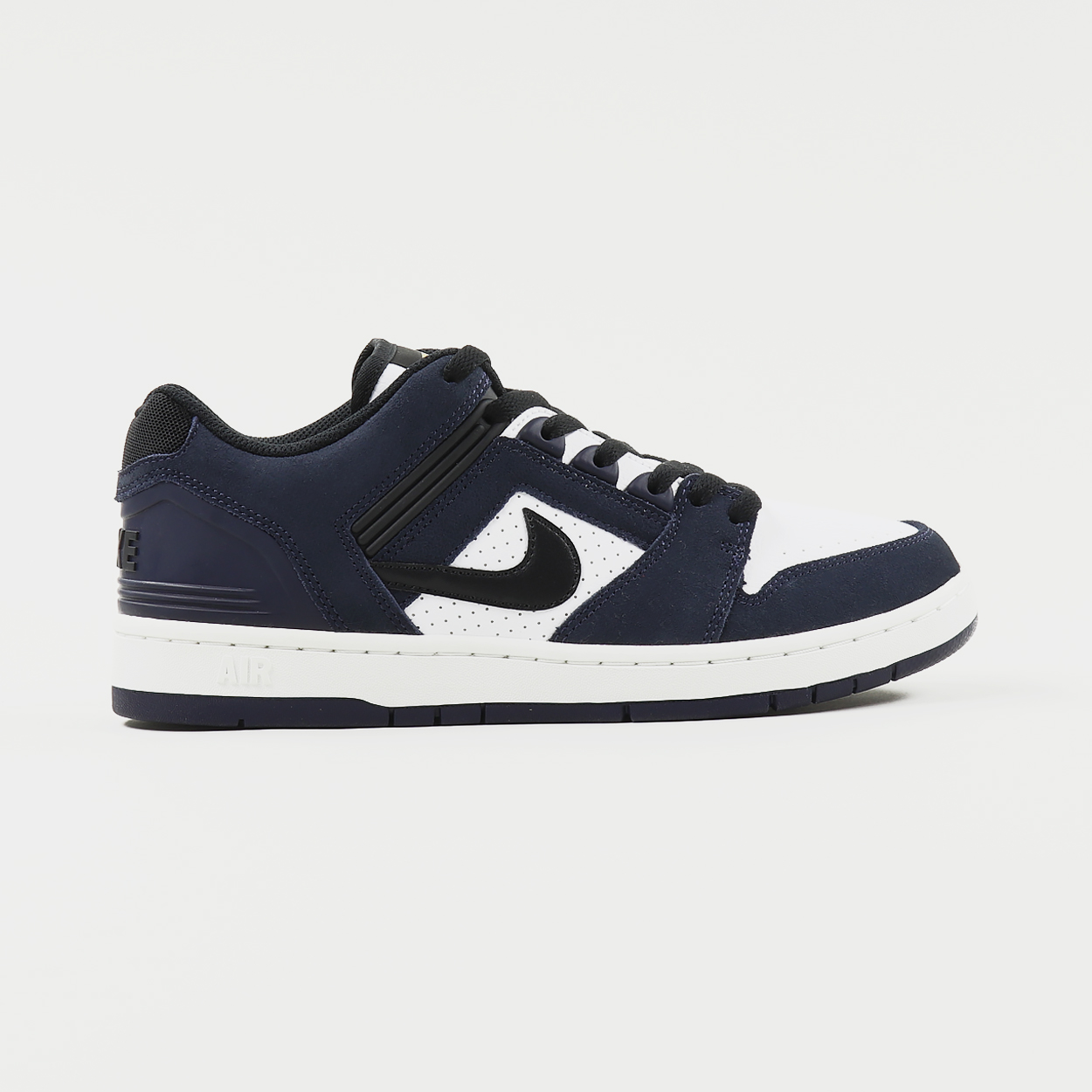 Nike SB Air Force II Low Shoes Obsidian Black White
