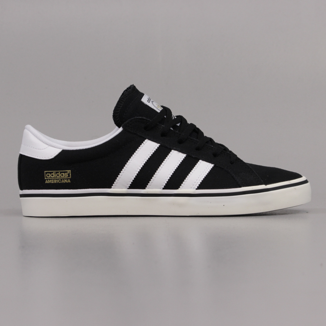 2282450c1 Adidas Skateboarding Americana Vin Low Shoes Black White Ecru £30.00