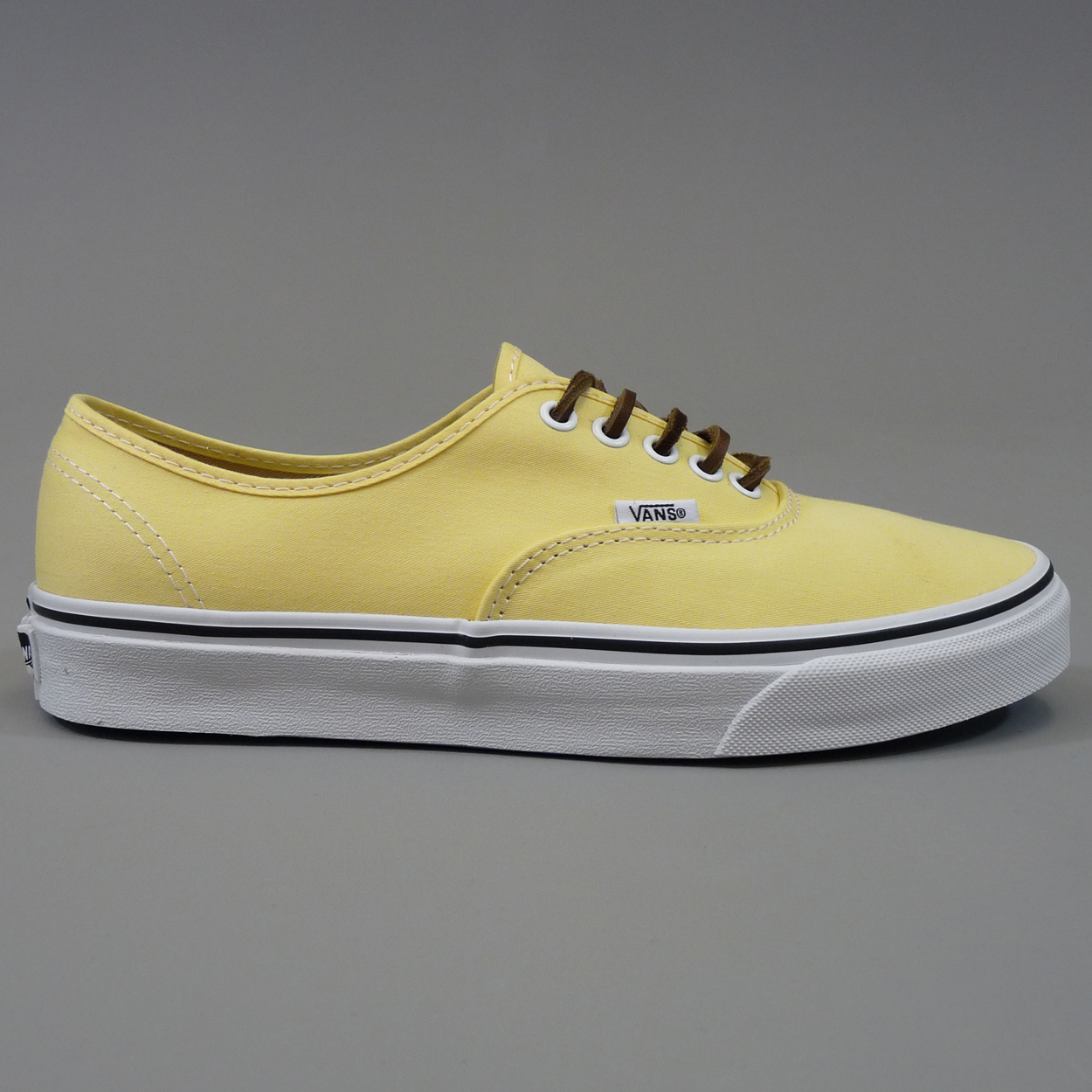 Vans Authentic California Shoes - Brushed Twill Pale Banana £45.00 5e4091a28
