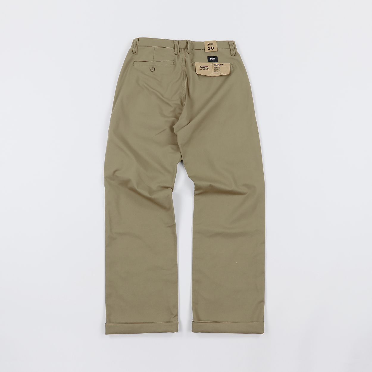 8f5dcc5b83e25e Vans Mens Skate Strength Authentic Chino Pro Pants Dirt Brown £45.50