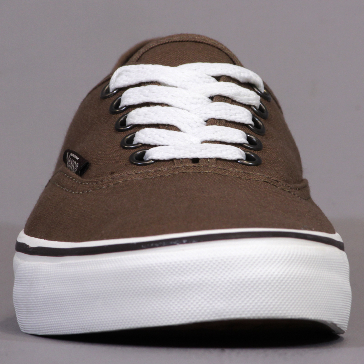 156f37f262 Vans Mens Authentic Trainers Sepia Marshmallow Waffle Grip Sole £36.00