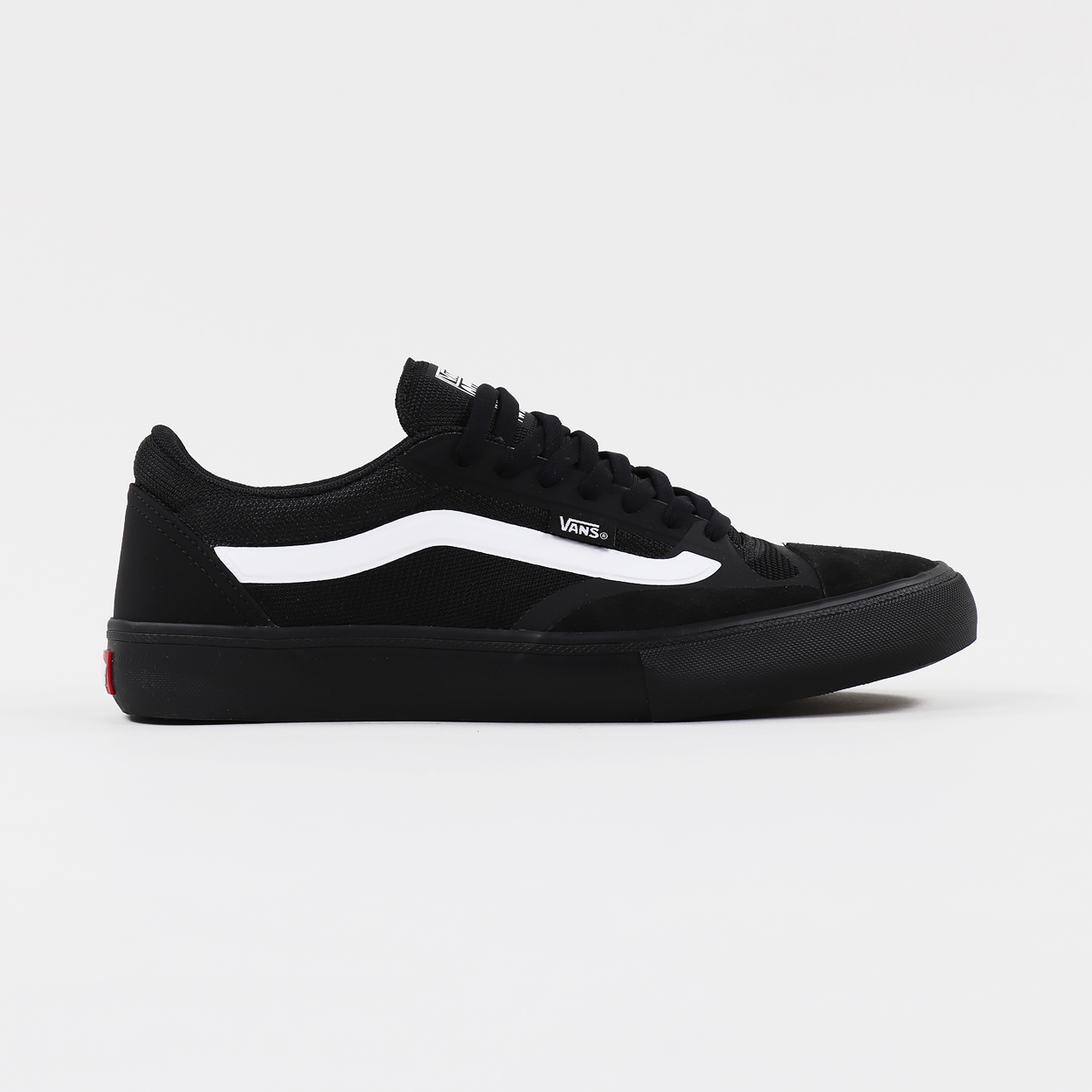 0ab2cad53 A pair of trainers from Vans Pro Skate made from a blend of padded mesh,  laminates and suede. The hardy construction features a big toe panel, ...