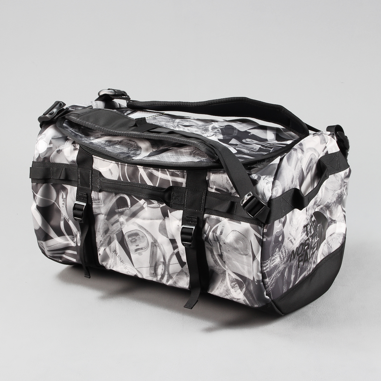699581772 The North Face Luggage Base Camp Duffel Small 50L Bag Black X Ray £66.50