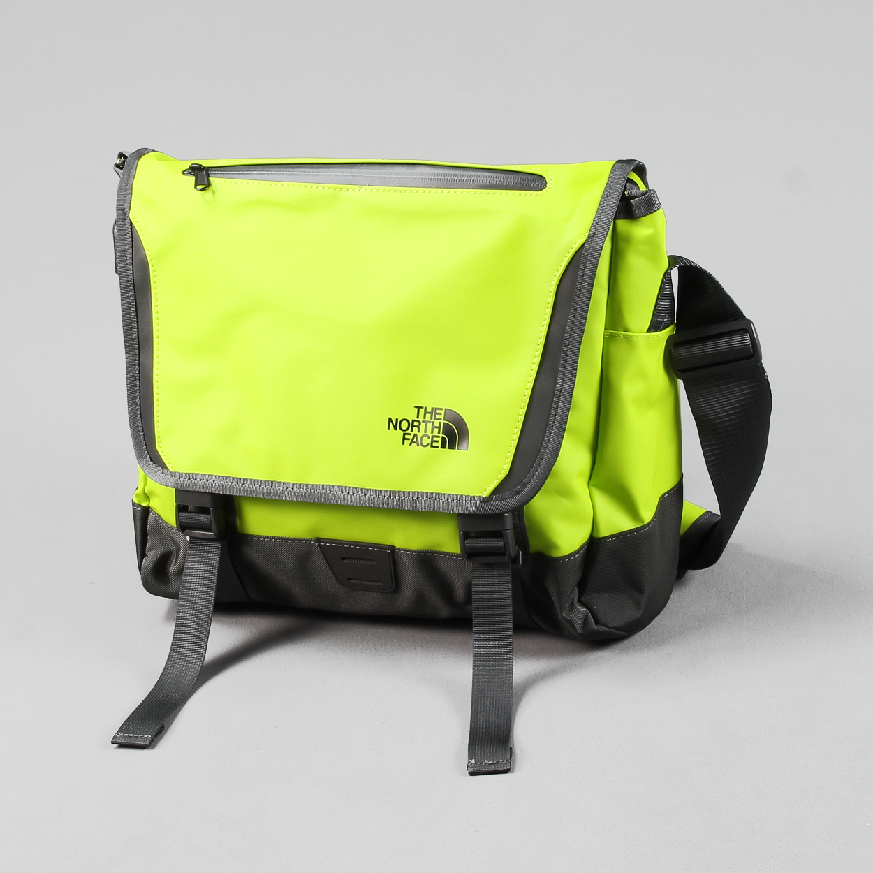 b8d4f806f750 The North Face Base Camp Small Messenger Bag Venom Yellow Pack £45.50