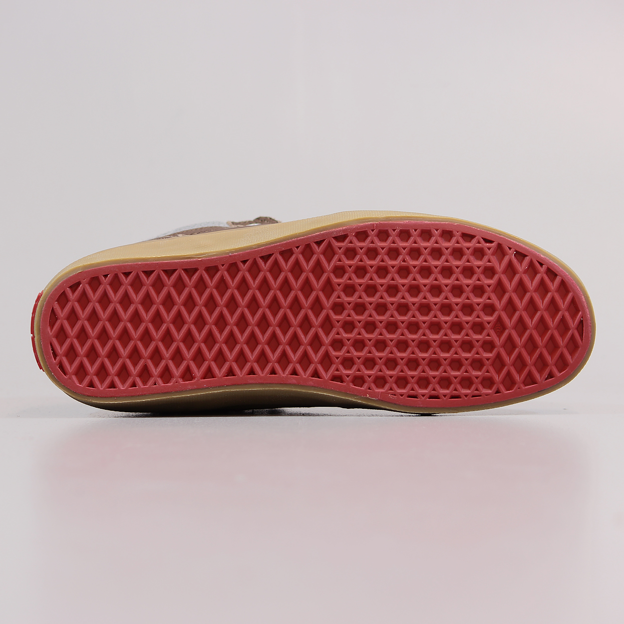 a671499ad7 A leather and felt uppered mid top shoe from the premium range from Vans