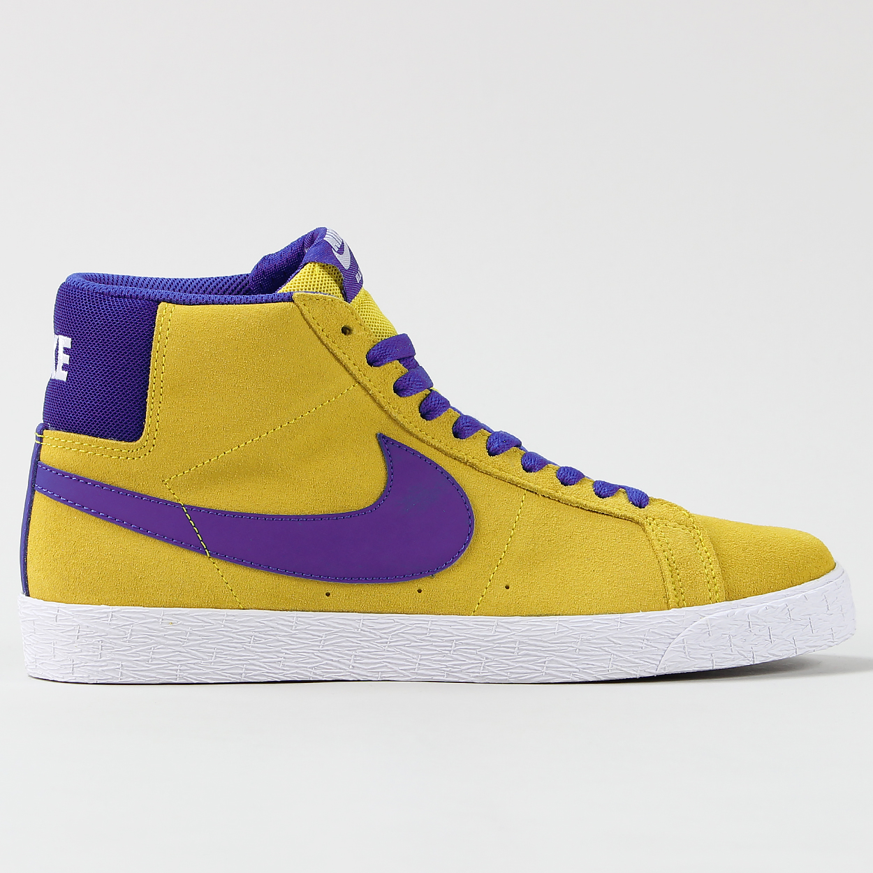 new product 65dc2 f2b0e Nike SB Blazer Zoom Mid Shoes Tour Yellow Blue White ...