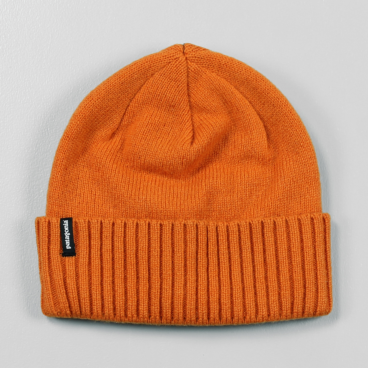 9e48ec25a14 Patagonia Mens Brodeo Beanie Campfire Orange Thick Knitted Hat £21.00