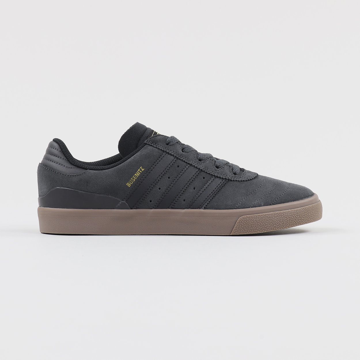 Adidas Skateboarding Mens Busenitz Vulc Shoes Grey Black Gum £69.95 85e993f42e