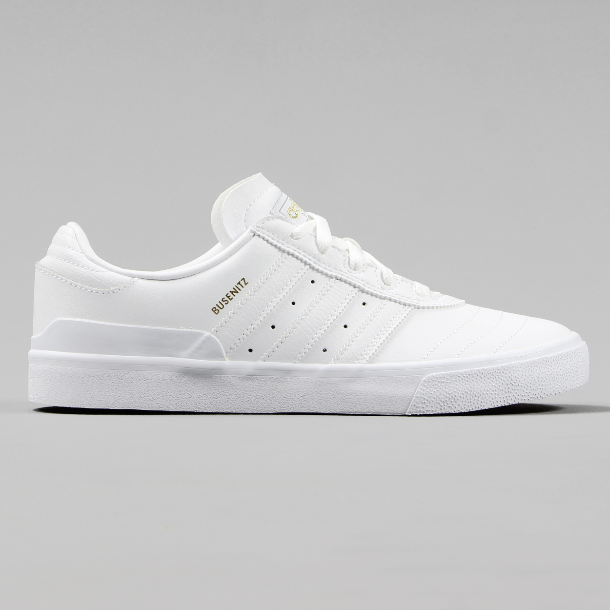 f9714dceb Adidas Mens Skateboarding Busenitz Vulc Shoes Triple White Gold £42.75