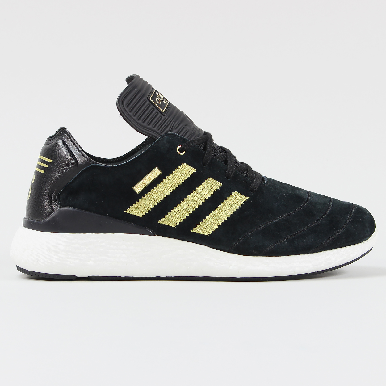 0937a48664c7e Adidas Busenitz 10 Year Anniversary Pure Boost Shoes Black Gold £75.00
