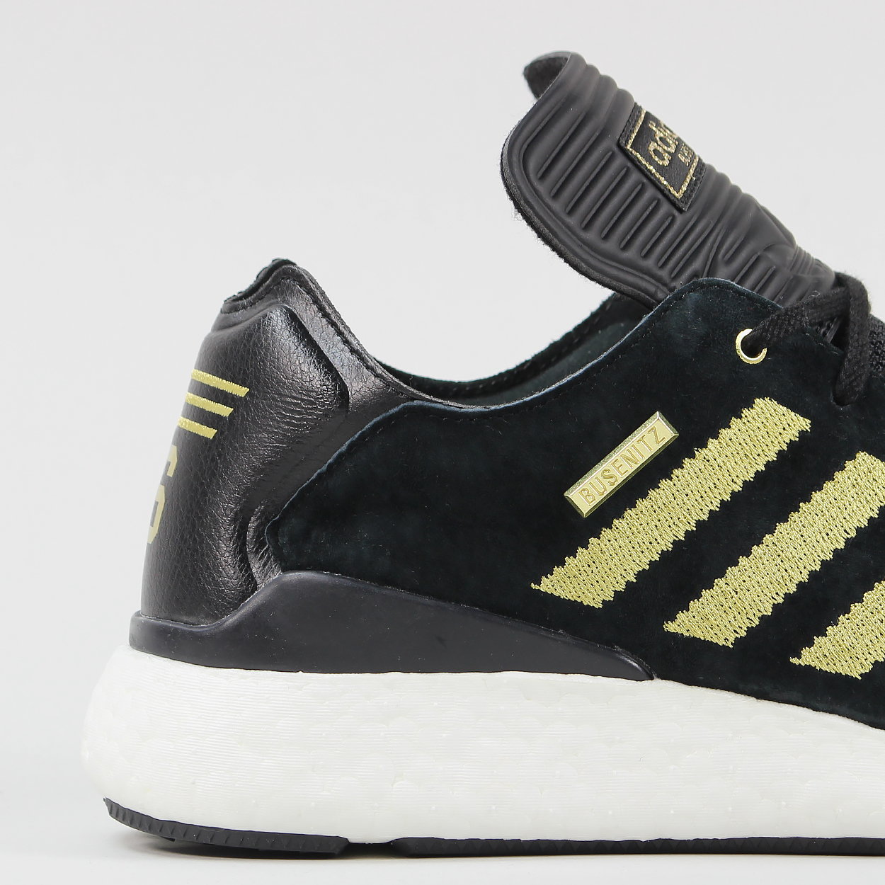 buy popular ddcec 0c545 Celebrating 10 wonderful years of the Adidas Busenitz shoe, this Pure Boost  is a delight! Suede uppers sat on Adidass Pure Boost sole.