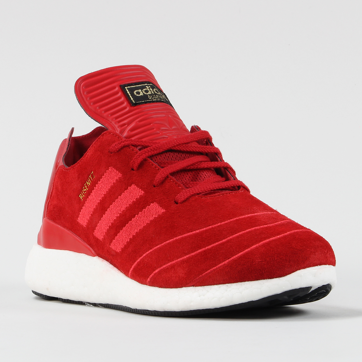 d90198321e0 The Busenitz shoe from Adidas has been given a new lightweight runner  influenced design with the new Busenitz Pure Boost
