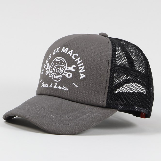Deus Ex Machina Carlo Trucker Cap Grey