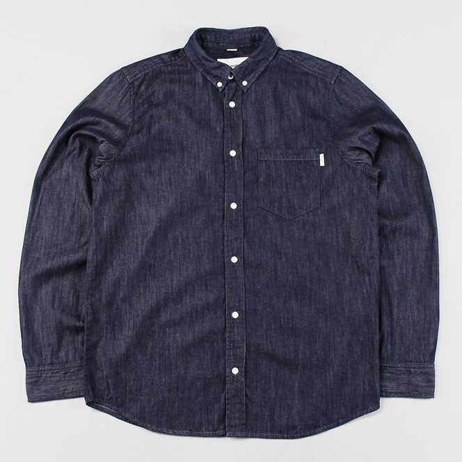 Carhartt Civil Long Sleeve Shirt Blue Rinse