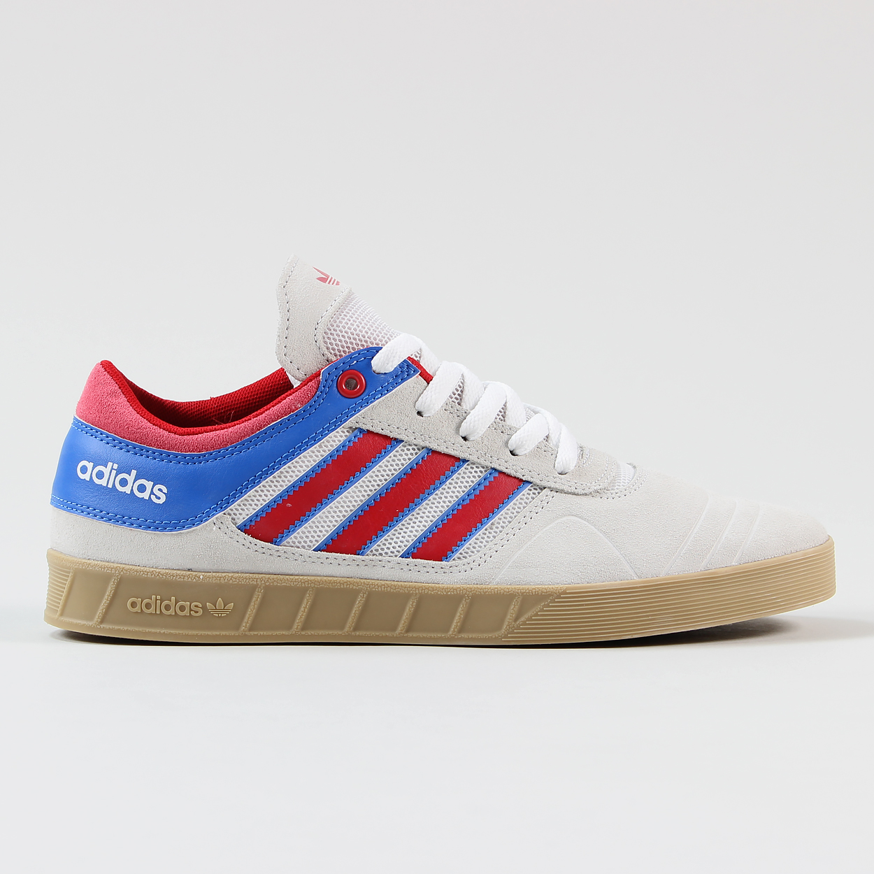 Adidas Skateboarding Claremont ADV Shoes Crystal White Red Blue £45.00 8f1c28191