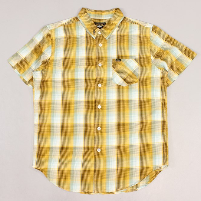Loser Machine Cunningham Short Sleeve Shirt Brown