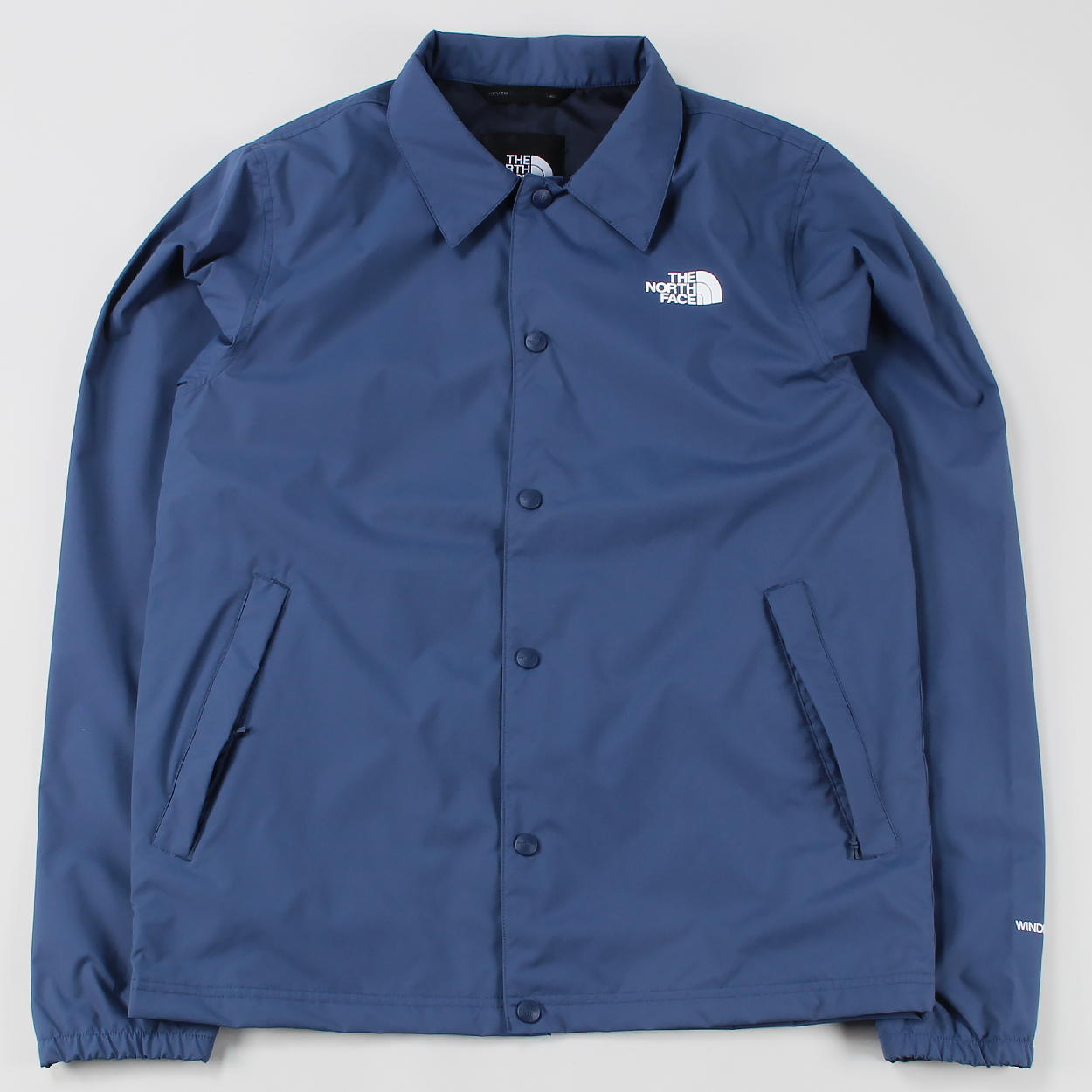 The North Face Mens Snap Button Coach Jacket Shady Blue Windproof £75.00 9298df79fcd7