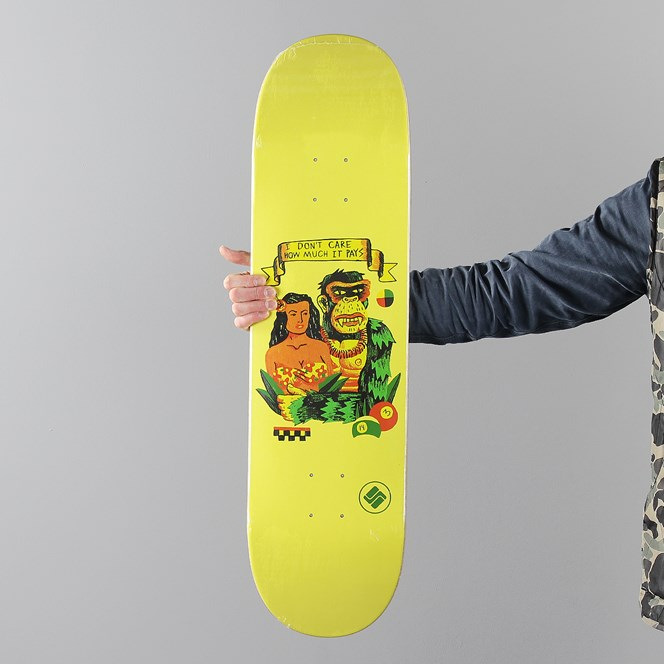 Science I Dont Care Deck 8.25 Inch