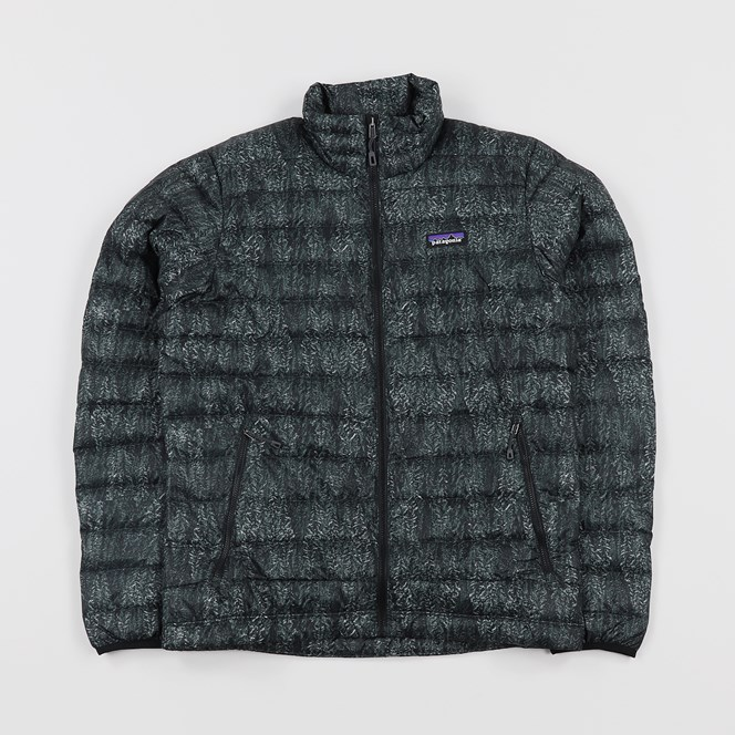 Patagonia Down Sweater Forestland Black