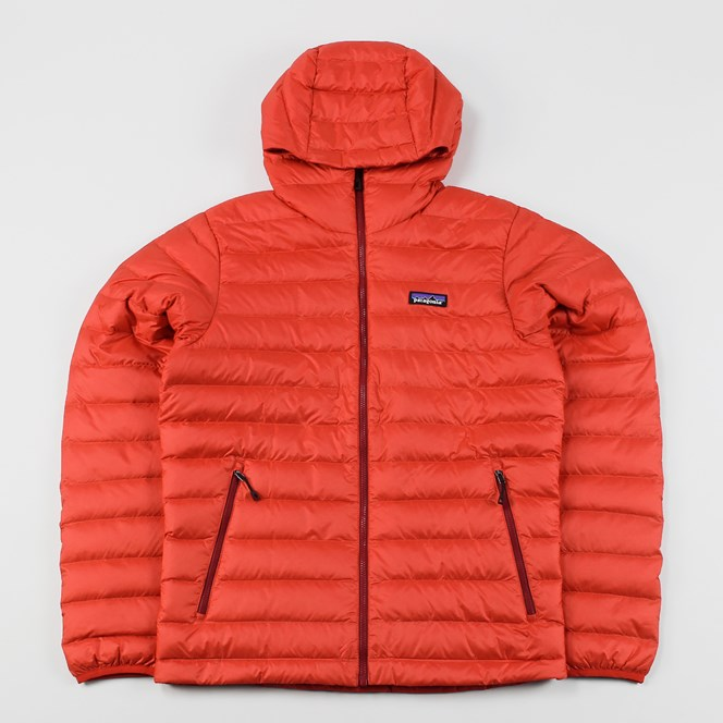 Patagonia Down Sweater Hood French Red
