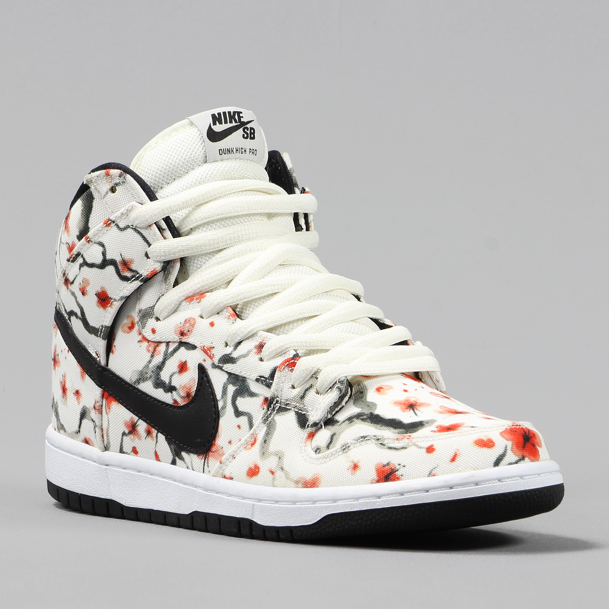 premium selection b7cd3 da19c Driving the work force and keeping your feet looking sick, is the Nike SB  Dunks with the new Cherry Blossom printed mesh panels for a unique style,  ...
