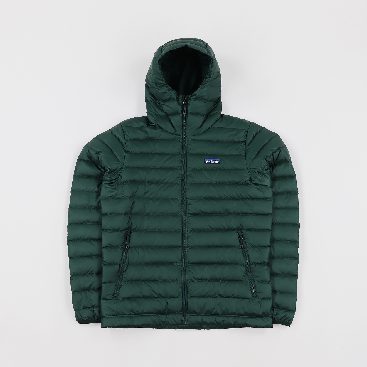 8088e8495a8 Patagonia Mens Down Filled Sweater Hoody Hooded Jacket Green £170.00