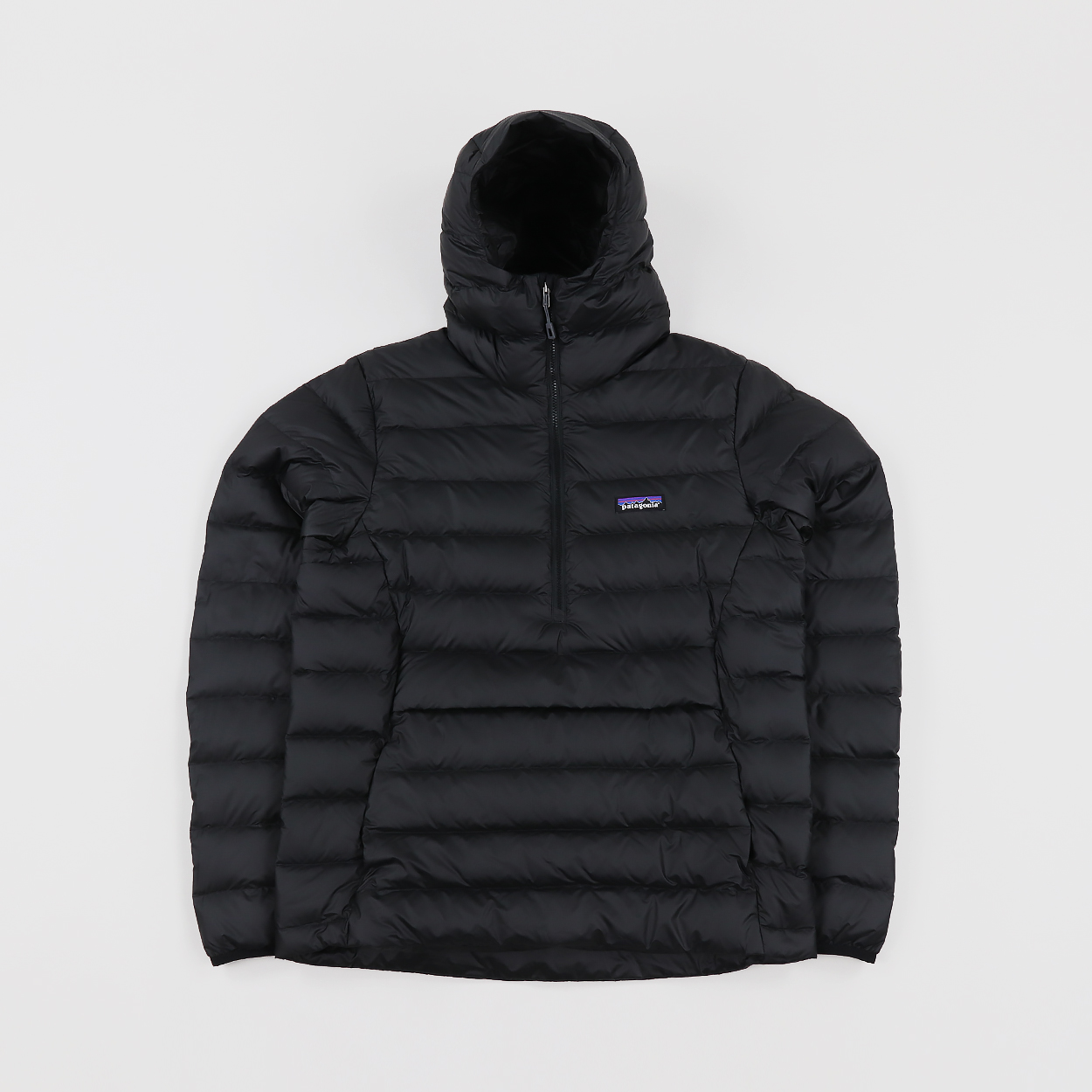 Patagonia Mens Down Sweater Insulated Hoody Pullover Jacket Black