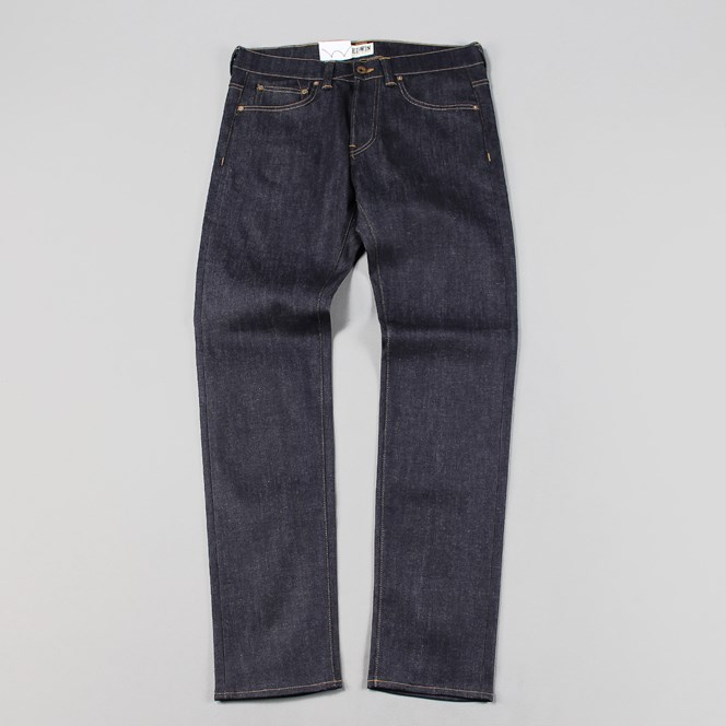 Edwin ED-80 Slim Taper Jeans Night Blue Unwashed