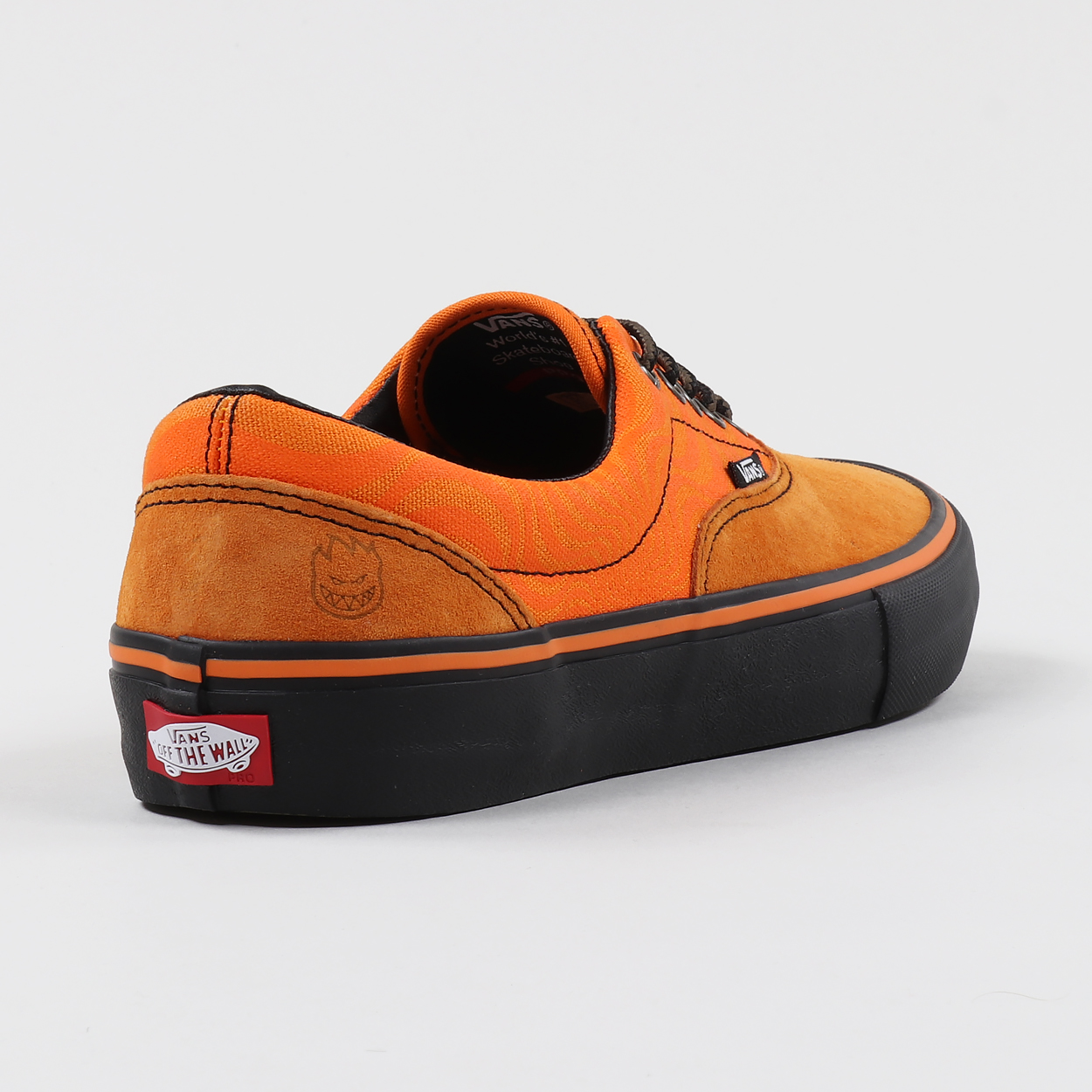 0b3025377c8f A pair of trainers from Vans  collaboration with Spitfire. True  skateboarding vibes with 41% textile and 59% synthetic uppers