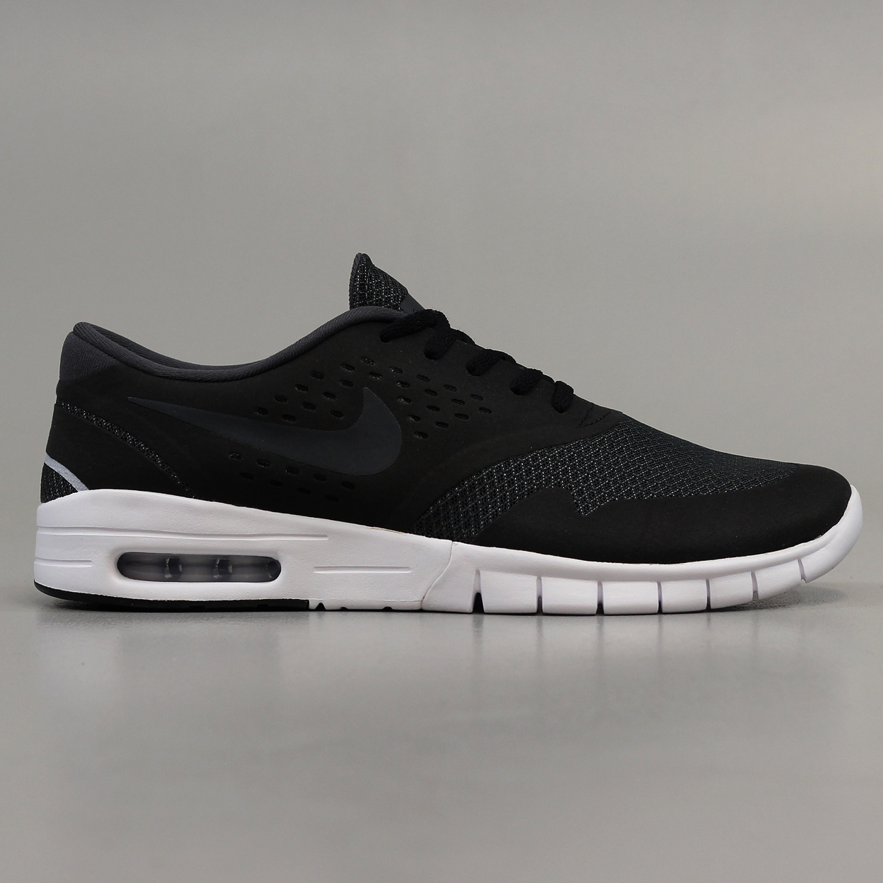 reputable site 8f9d3 c0f03 Nike SB Eric Koston 2 Max Mens Shoes Black Anthracite Wolf Grey £56.70