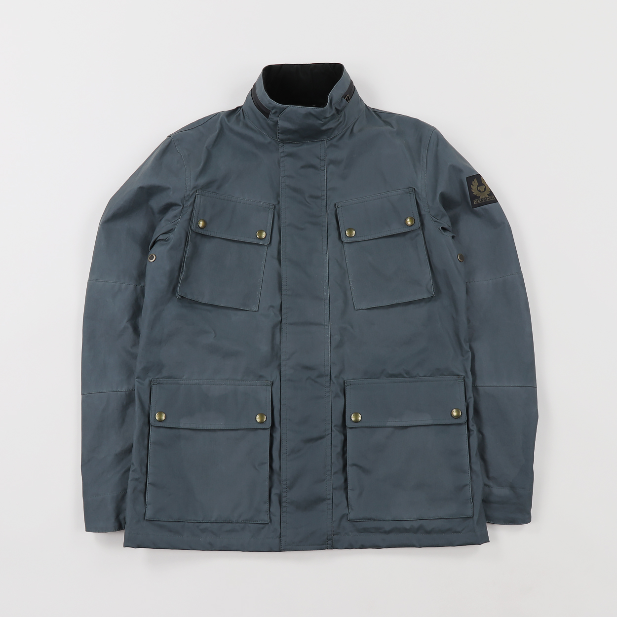 c788d52a581 A waxed cotton jacket from premium outerwear designers Belstaff. With UK  motorcycle heritage, this practical jacket is weather-resistant, warm, and  includes ...