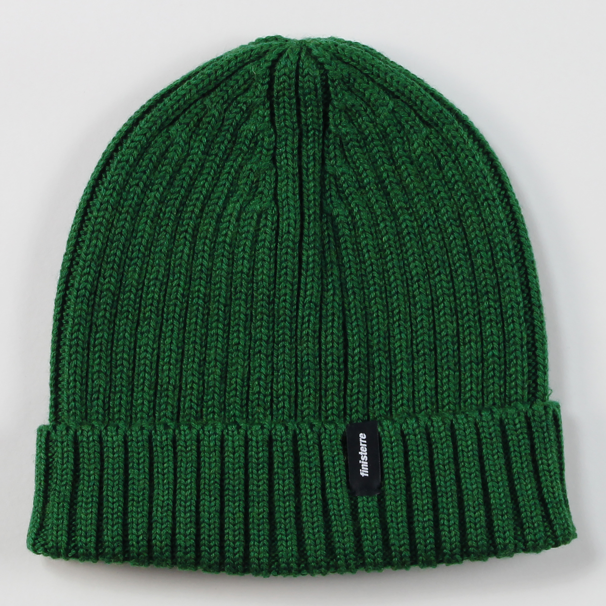 Finisterre Fisherman Merino Woolen Cuff Beanie Forest Green £18.75 4635d531cce