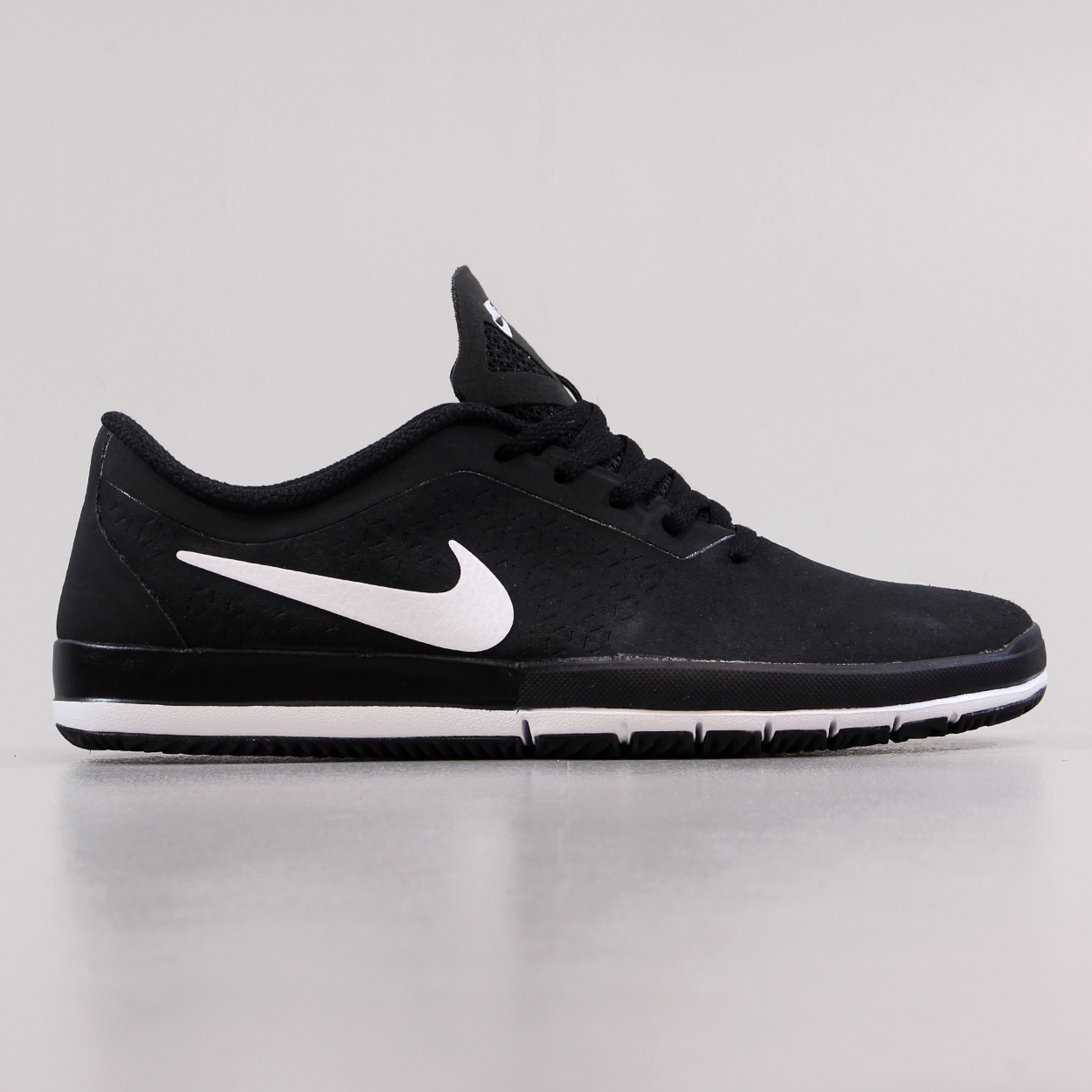 latest discount uk availability low cost Nike Mens Free SB Nano Shoes Black White Skateboarding ...