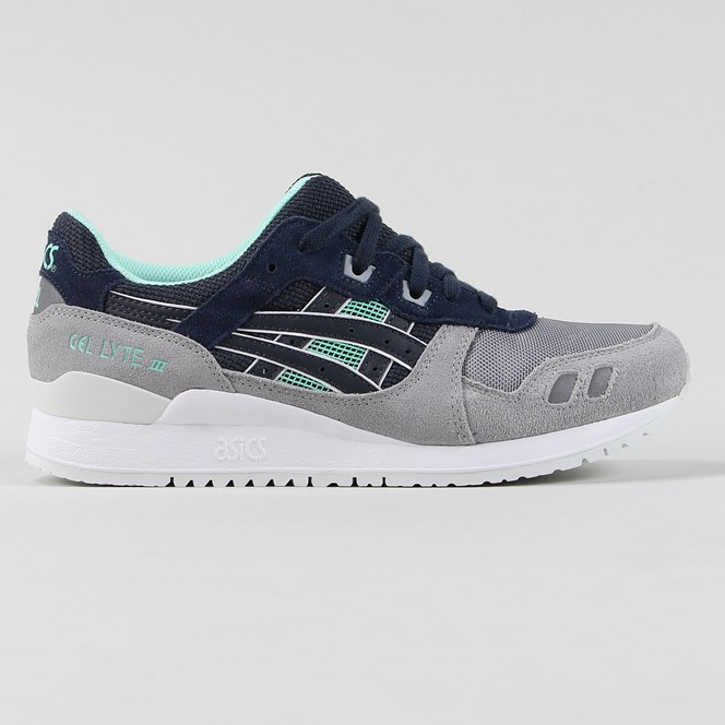 Asics Gel Lyte 3 Shoes India Ink Grey White