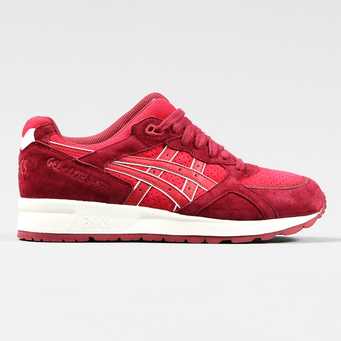 Asics Gel Lyte Speed Shoes Burgundy Red