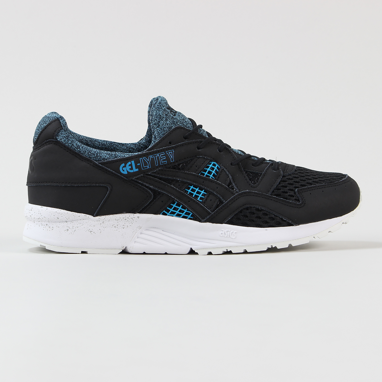 sports shoes acbdb c6961 Asics Mens Gel Lyte V 30 Years Edition Trainer Shoes Black ...