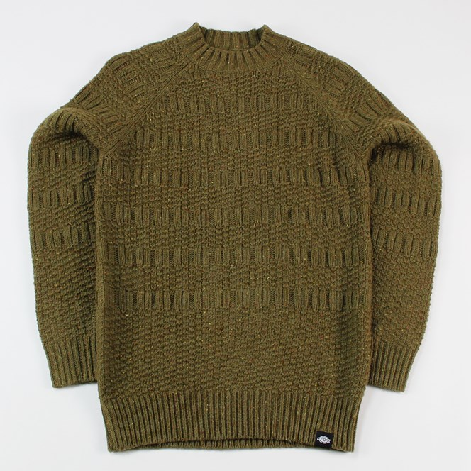 Dickies Goodland Knit Sweater Green
