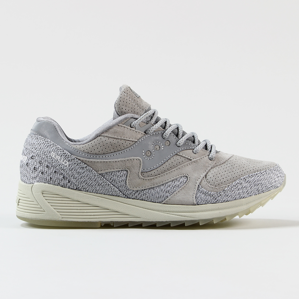 the best attitude 756c9 abeaa Saucony Dirty Snow Pack 2 Grid 8000 CL Trainers Grey Shoes ...