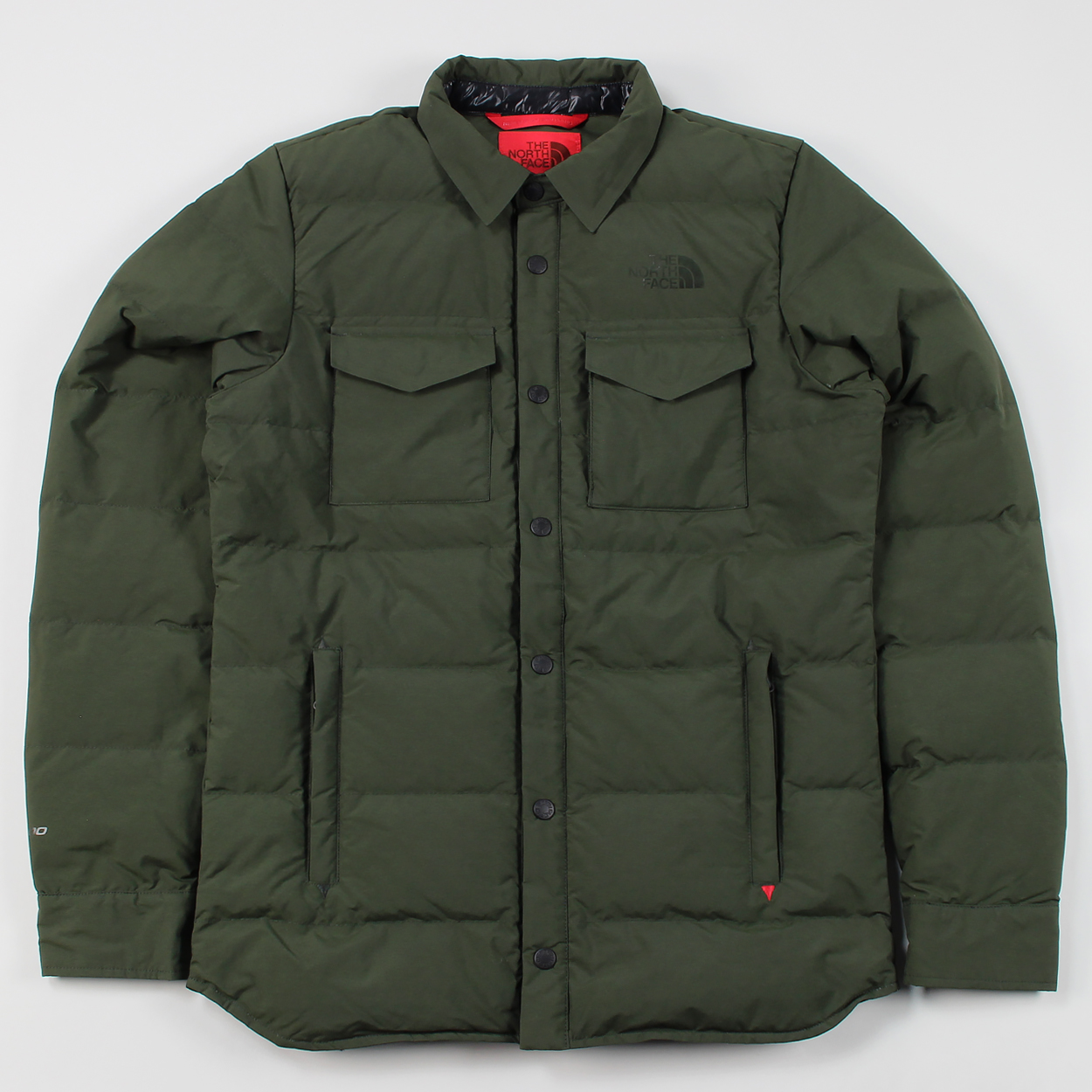 6ba6fd2de The North Face Mens Red Label Insulated Hoodoo Shirt Rosin Green £228.00