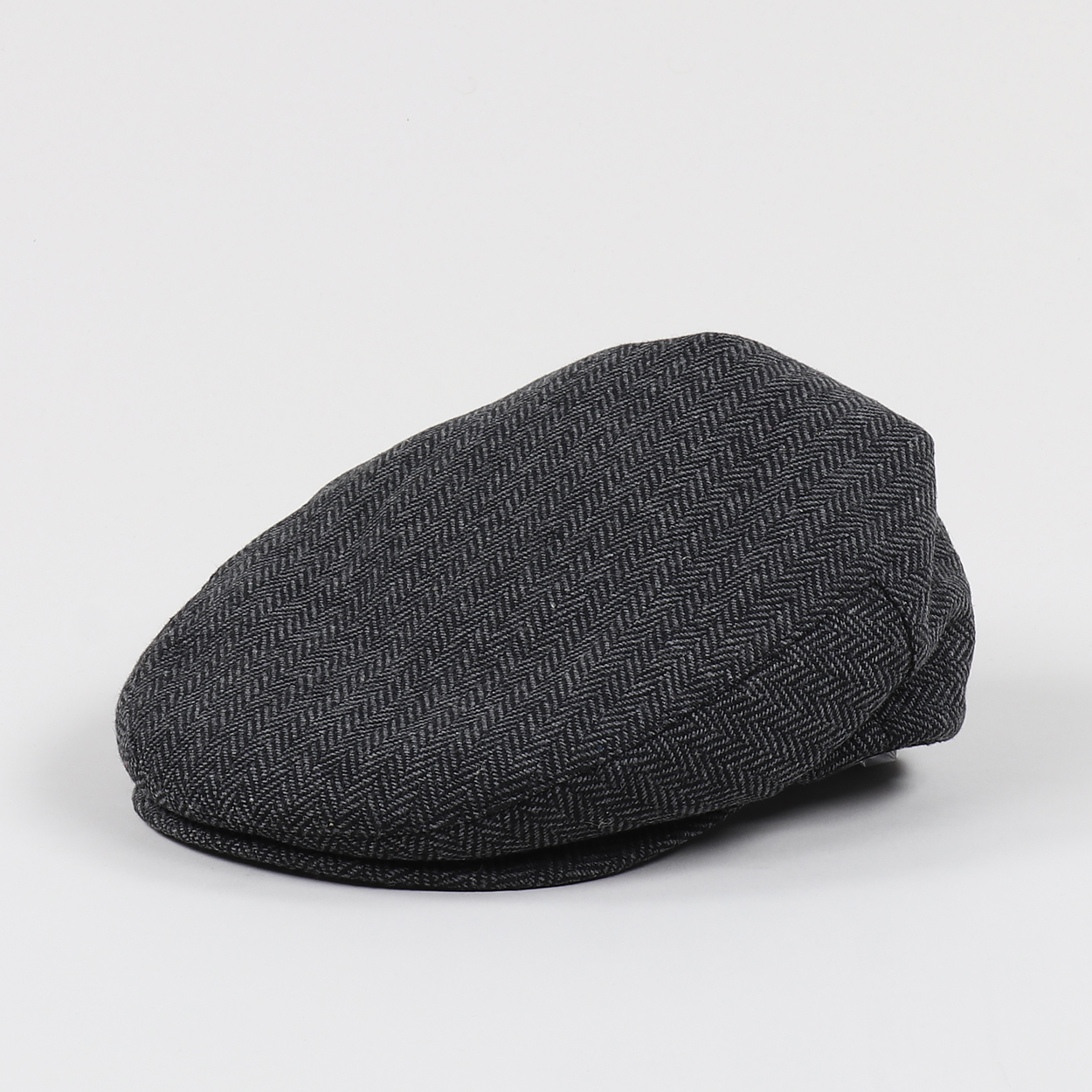 Brixton Mens Cotton Hooligan Flat Cap Scally Hat Grey Black £26.25 478a77f93154