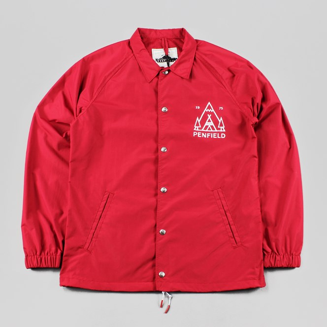 Penfield Howard Coach Jacket Red